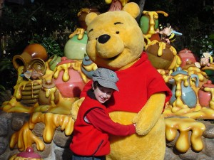Ian and Pooh